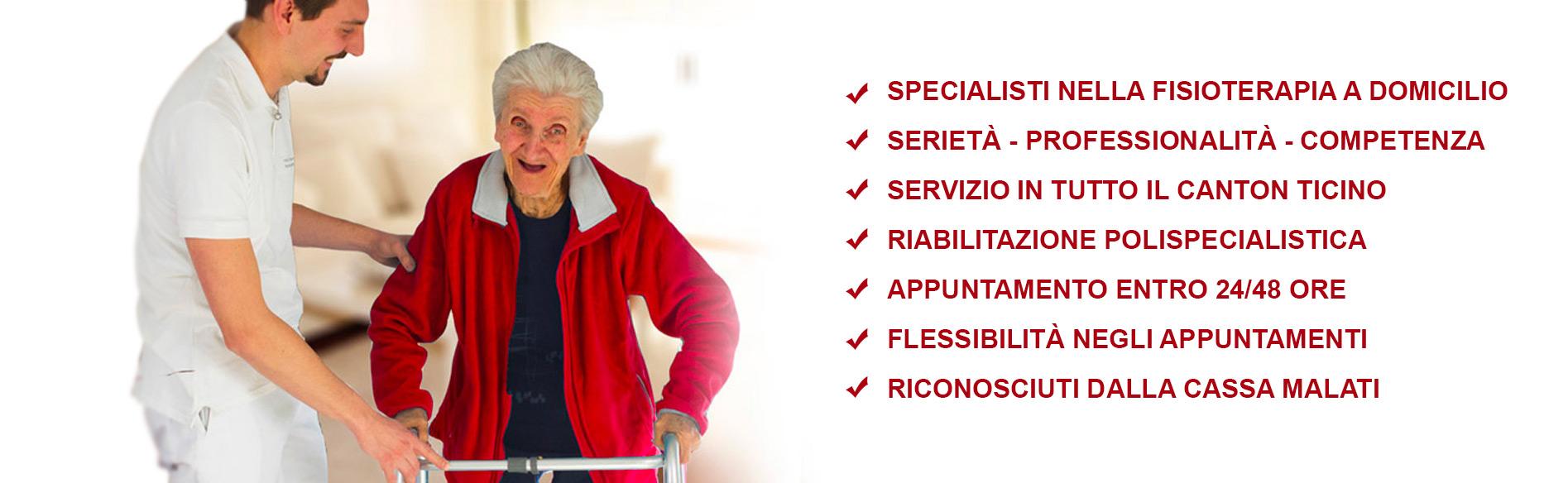 fisioterapia domiciliare nel canton ticino Svizzera